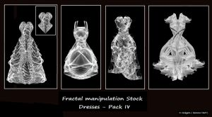 Fractal Stock - Dress Pack IV by rockgem