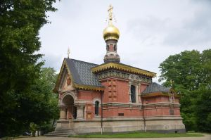 Russian church, Bad Homburg by Irondoors