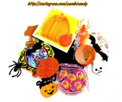 halloween grab bag by zambicandy