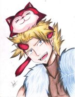 Sting and lector :3 by HachiroAkira