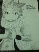 Natsu Dragneel Drawing by KimikoRei07