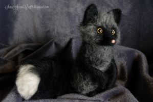 Silver fox for S. by SaniAmaniCrafts