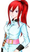 Erza (Request) by esbelle