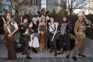 Outlanders Assemble by VynetteDantes
