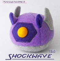 Puggleformer - G1 Shockwave by callykarishokka