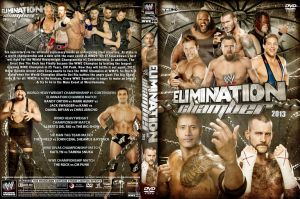 WWE Elimination Chamber 2013 DVD Cover V2 by Chirantha