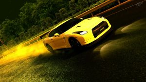 My Nissan GT-R by KINGMANI100