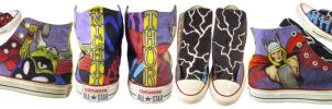 THOR Shoes by mortmortmorty