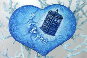 Tardis Heart by hontor