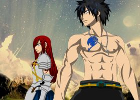 Erza Gray Enter by ID9OP