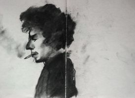 dylan (charcoal) by nougatetmephisto