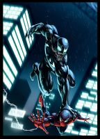 Venom vs Spidey by EspenG
