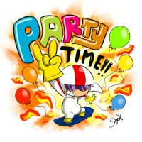 KB party time!! by Noanja