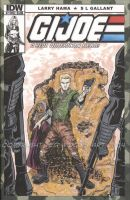 GI Joe Sketch Cover--Tiger Force Duke by tedwoodsart