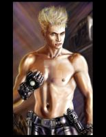 Billy Idol Jedi by ArtBennyRGrau