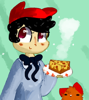 OIOIOIIIOOOiiiI PIZZA CAKIE by raddily