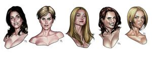 Sketch Color - Studing Womens by taguiar