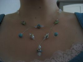 collier creation by ouistina