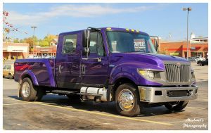 A Purple International Truck by TheMan268