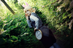 Vocaloid cosplay / Alice in Musicland Len Kagamine by DAIxSORA
