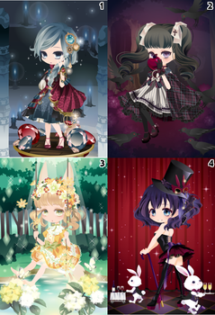 (CLOSED) Free Selfy Adopts! [Batch 8] by AndIShatter