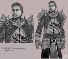 The Knight Commander of Kirkwall by OurMysticalNonsense