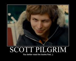 Scott Pilgrim motivational by VirtualFighter