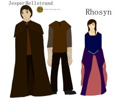 Rhosyn and Jesper by alicesapphriehail