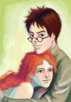 James and Lily by Natalliel