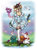 Lolita Alice in Wonderland by NoFlutter