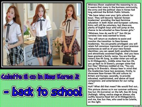 Colette and Co in New Korea 2 - back to school by p-l-richards