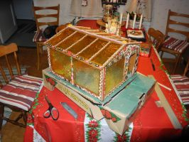 Gingerbread Greenhouse by SofiaAR