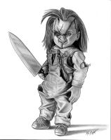 Chucky by FREAKCASTLE