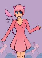 151 Mew by glubglubfish