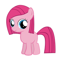 MLP: Pinkamena Filly Vector by Togekisspika35