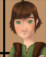 Hiccup Portrait by Leisse