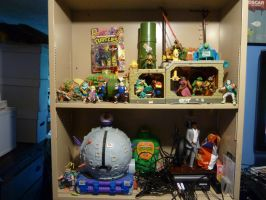 Some of my TMNT toys. by OwenneiL