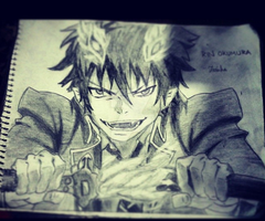 Rin Okumura 2 by HollowFawiha