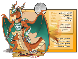 RS - Warmount 'SkyRoar' Charizard by Mindless-Corporation