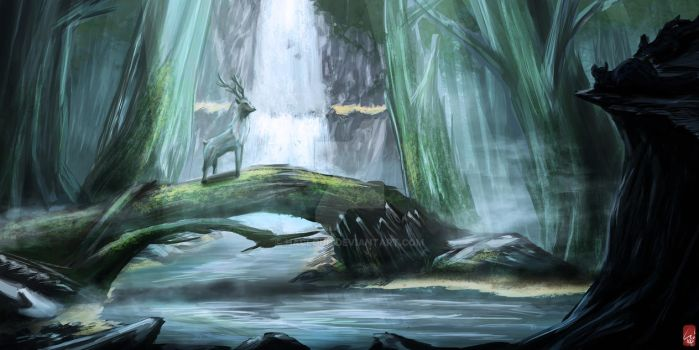 Practice - Cold Forest by HaCloud