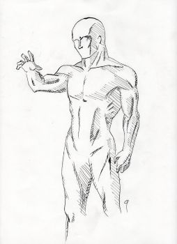 Figure Drawing - Male by DoYouHaveYourTowel42