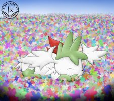 Resting on the flowers by DragoN-FX