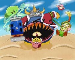 Kirby OoD Ch. 8 Scene - Lost King in a Vast Desert by ChronoWeapon