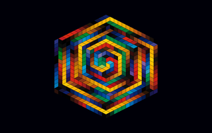 Inspired by Victor Vasarely - HAT-B by Manshonyagger