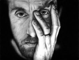 Tim Roth _ Through Shadowed Eyes by ffxauron