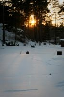 Vaxholm cemetary by tifrize