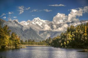 New Zealand - Lake Matheson by olideb08