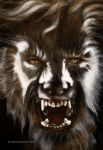 The Wolf Man by vampirekingdom