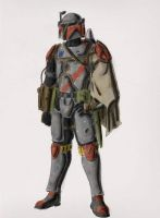 Mandalorian by DrForrester87