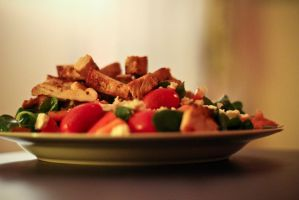 Feel good salad. by feese